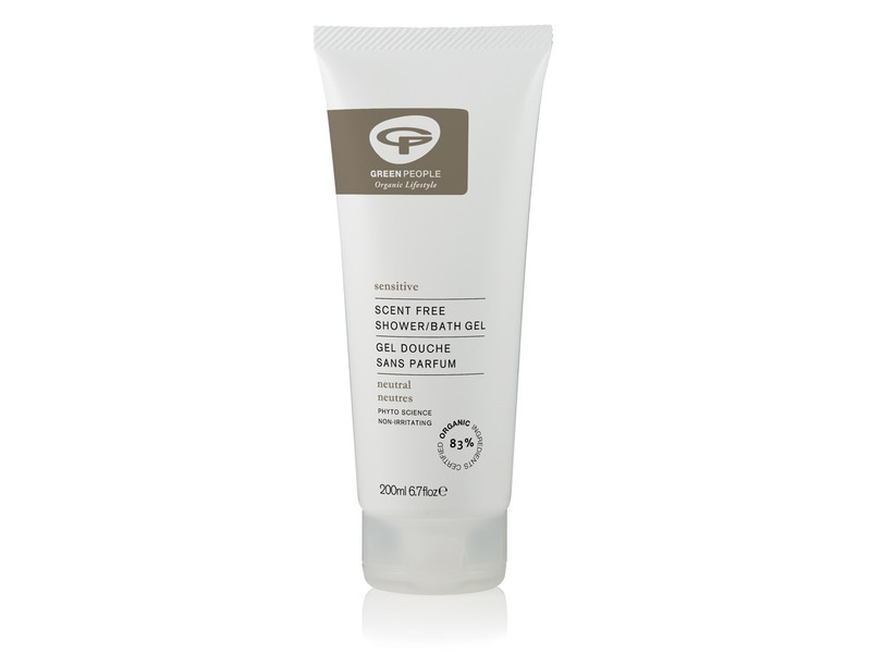 Green People Organic Lifestyle Neutral/Scent Free Shower Gel, 200 mL
