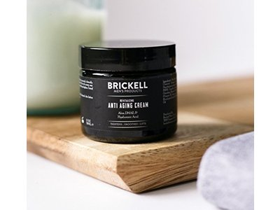 Brickell Men's Revitalizing Anti-Aging Cream For Men, Natural & Organic Anti Wrinkle Night Face Cream - 2 oz - Scented - Image 6