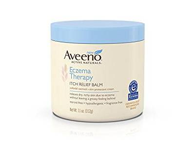 Aveeno Eczema Therapy Itch Relief Balm, 11 ounce - Image 1