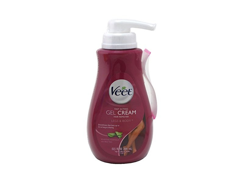 Veet Gel Cream Hair Remover 13 5 Ounce Ingredients And Reviews