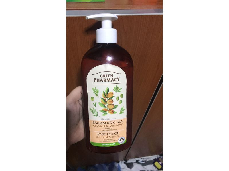 Green Pharmacy Body Lotion, Olive & Argan Oil