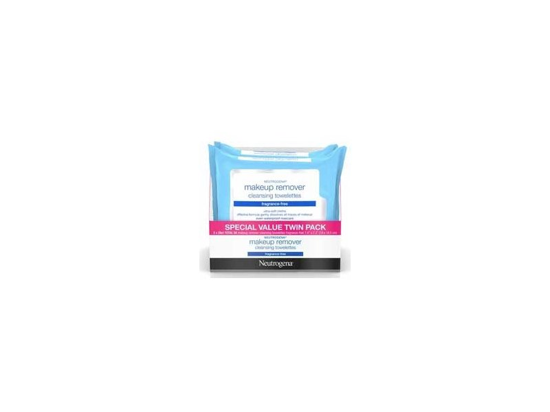 Neutrogena Fragrance Free Make Up Remover Wipes, 50 Count
