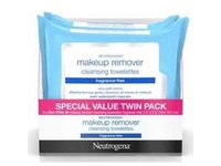 Neutrogena Fragrance Free Make Up Remover Wipes, 50 Count - Image 2