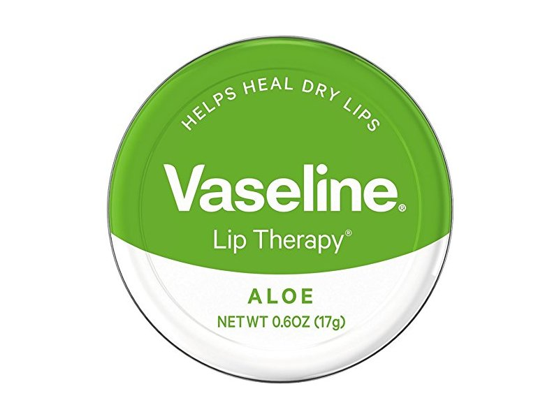 Vaseline Lip Therapy, Aloe, 0.6 oz