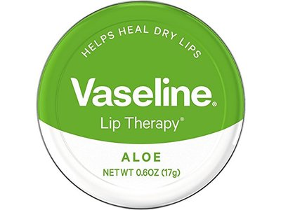 Vaseline Lip Therapy, Aloe, 0.6 oz