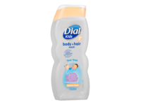 Dial Kids Peachy Clean Body+Hair Wash, Clear Blue, 12 fl oz. - Image 2