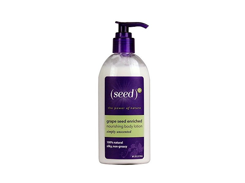 Seed Grape Seed Extract Nourishing Body Lotion, Simply Unscented, 8 fl oz