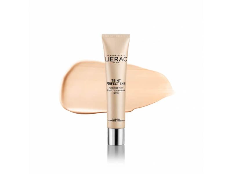 Lierac Paris Perfect Skin Perfecting Illuminating Fluid, 01 Light Beige, 1.05 fl oz