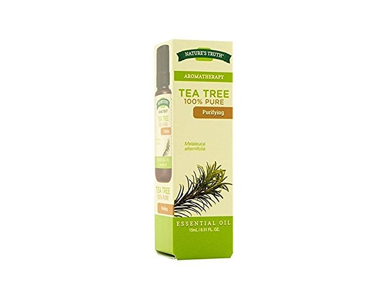 Nature's Truth Aromatherapy 100% Pure Essential Oil, Tea Tree, 0.51 Fl oz