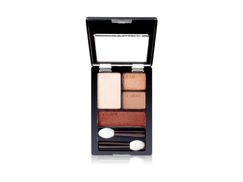 Maybelline New York Expert Wear Eyeshadow Quads, Autumn Coppers, 0.17 Ounce