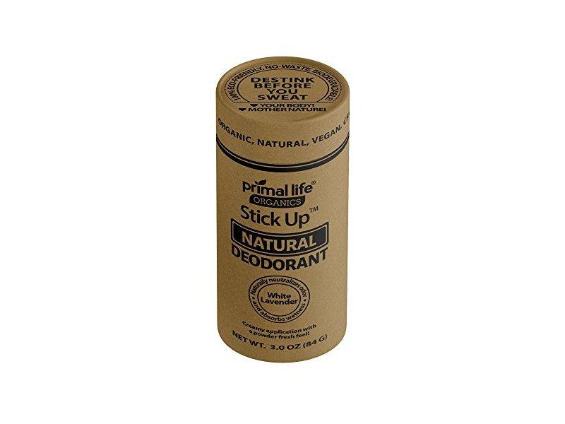 Primal Life Stick Up Natural Deodorant White Lavender