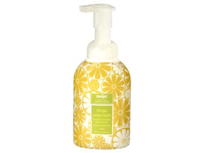 Meijer Foaming Hand Soap, Lemon Scent, 10 fl oz