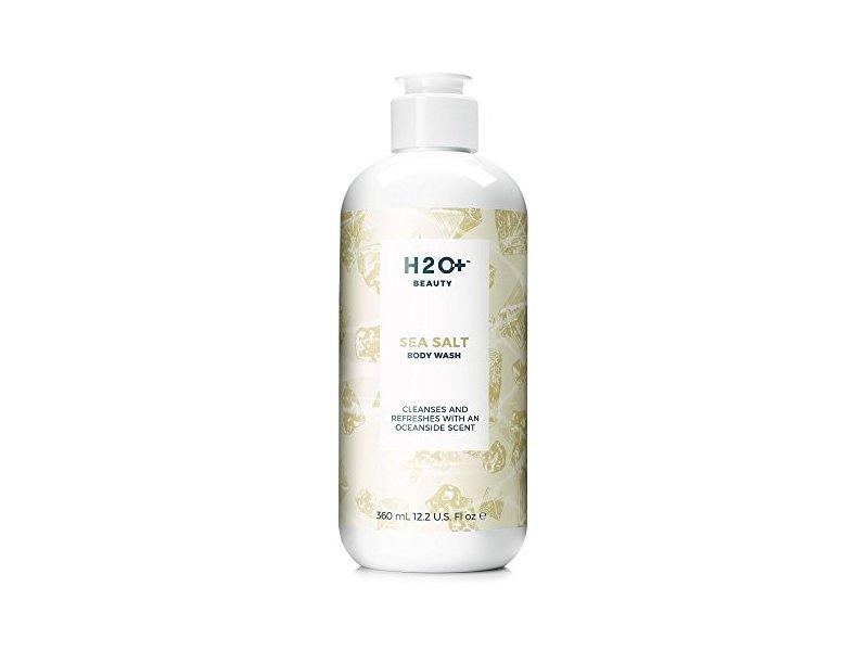 H2O+ Beauty Sea Salt Body Wash, Refreshing Shower Gel, with Vitamin E, 12.2 Ounce