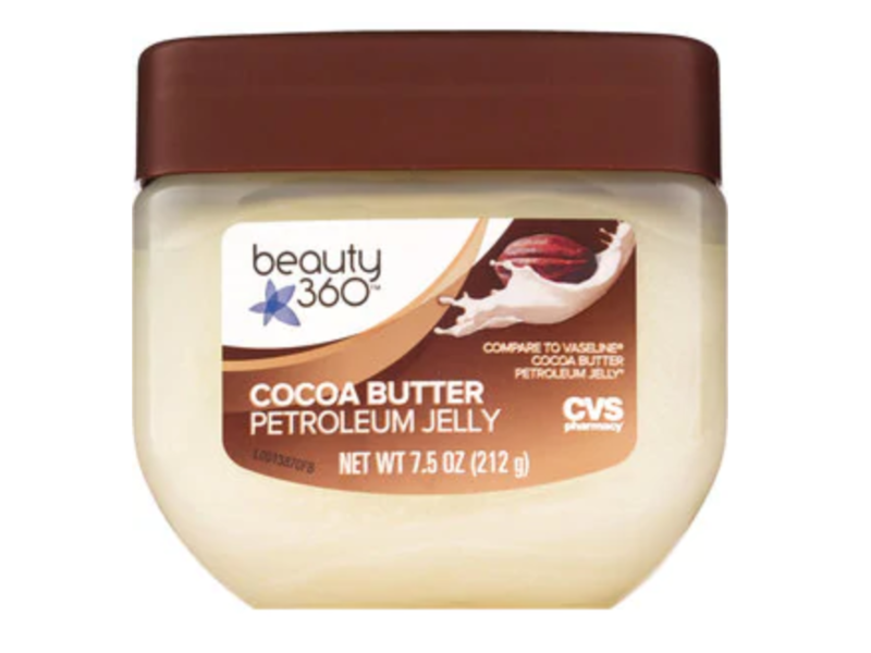 Beauty 360 Petroleum Jelly, Cocoa Butter, 7.5 oz