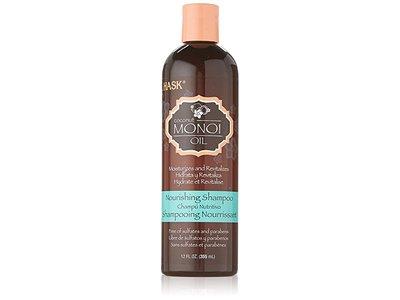 Hask Monoi Coconut Oil Nourishing Shampoo, 12 oz