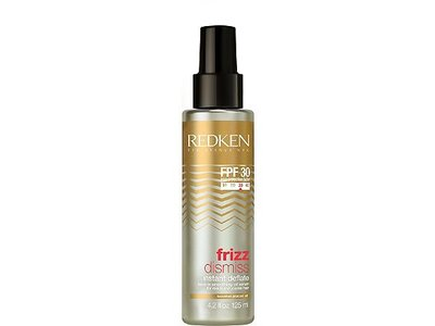 Redken Frizz Dismiss FPF 30 Instant Deflate Leave in Smoothing Oil Serum, 4.2 fl oz