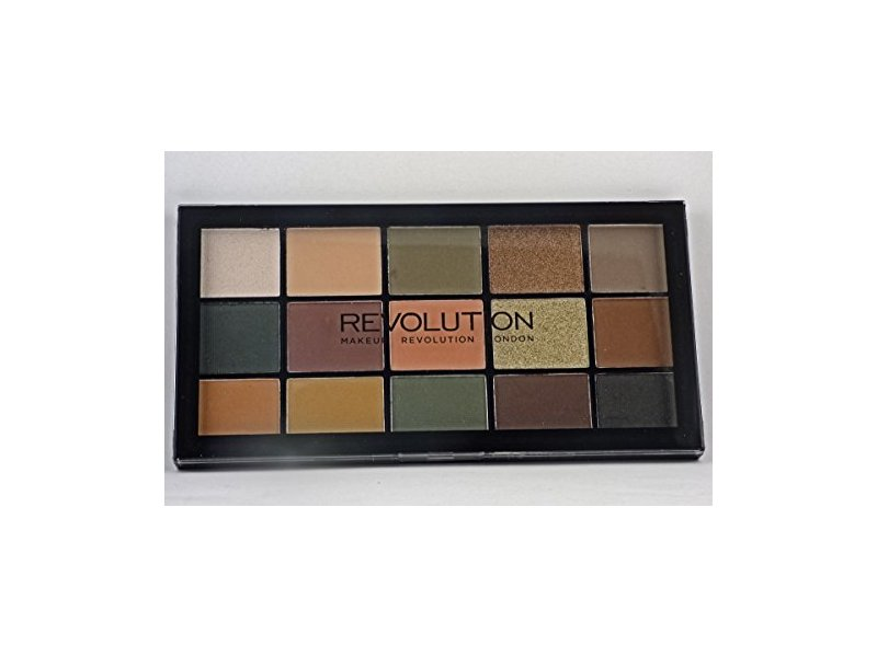 Makeup Revolution Eyeshadow Palette, Reloaded Division