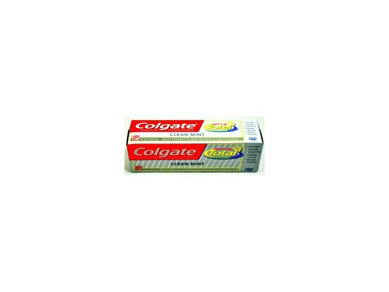 Colgate Total Toothpaste, Clean Mint, 0.75 oz