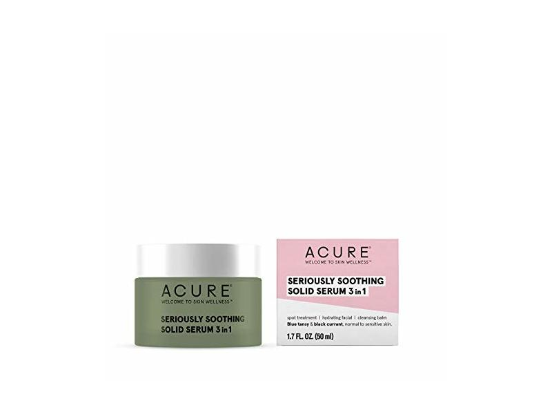 ACURE Seriously Soothing Solid Serum 3-in-1, 1.7 oz