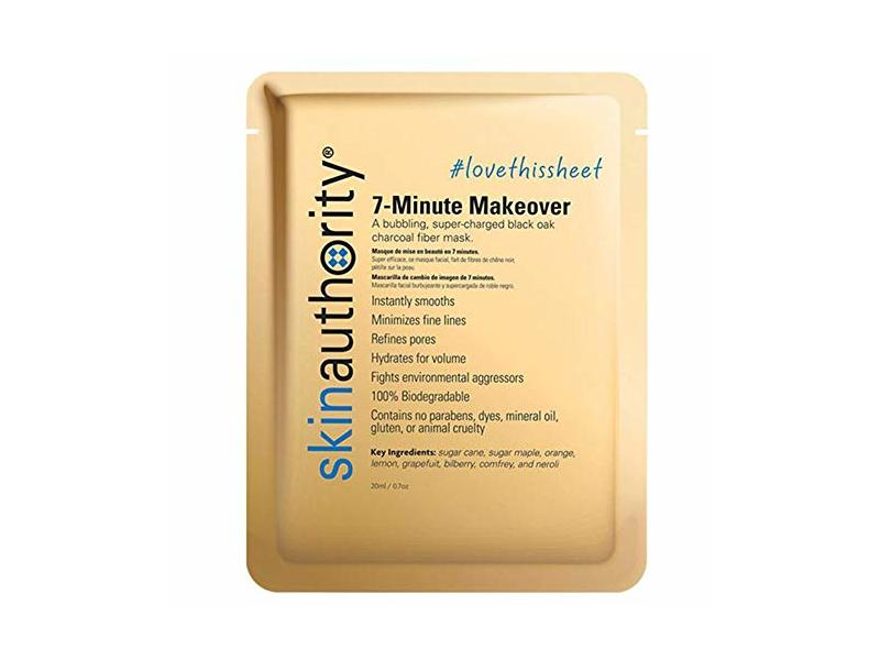 Skin Authority 7 Minute Makeover Mask, 0.7 oz/20 ml