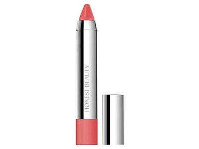 Honest Beauty Truly Kissable Lip Crayon, Sheer Petal Kiss, 0.105 Ounce