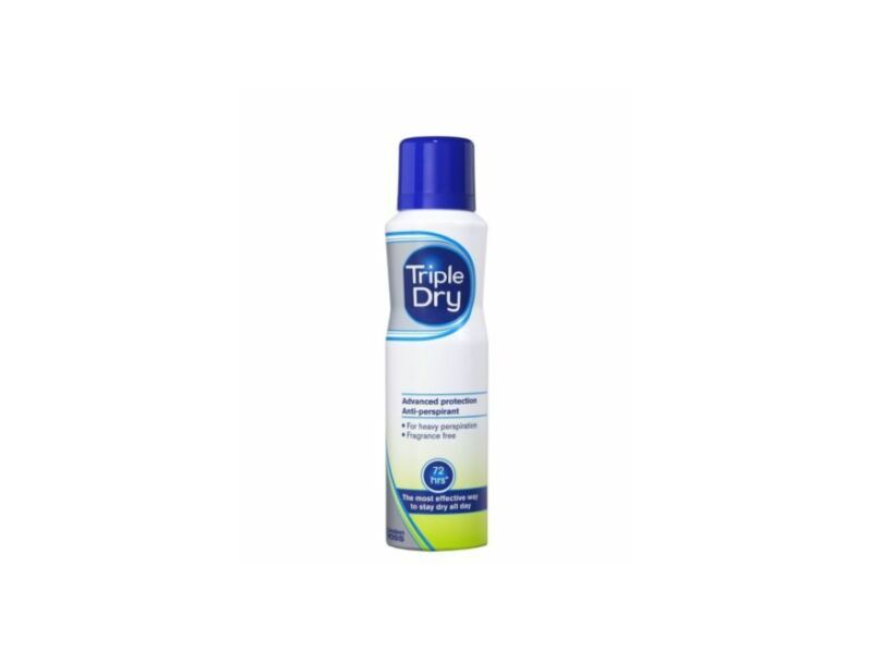 Triple Dry Unfragranced Advanced Protection Anti-Perspirant 72 hours ,150ml