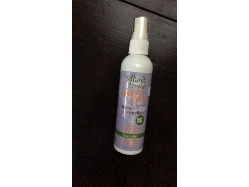 Nature's Armour Buzz Off Spray, Lavender, 4 fl oz