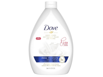 Dove Deep Moisture Hand Wash, 34 fl oz/1 L