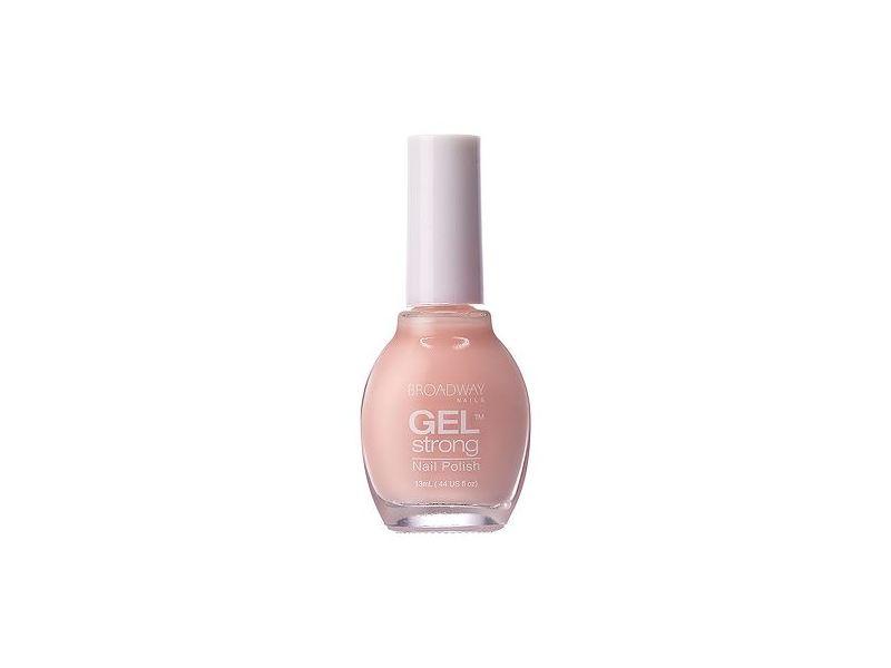 Broadway Nails Gel Strong Nail Polish, Pink Drop, 0.44 fl oz