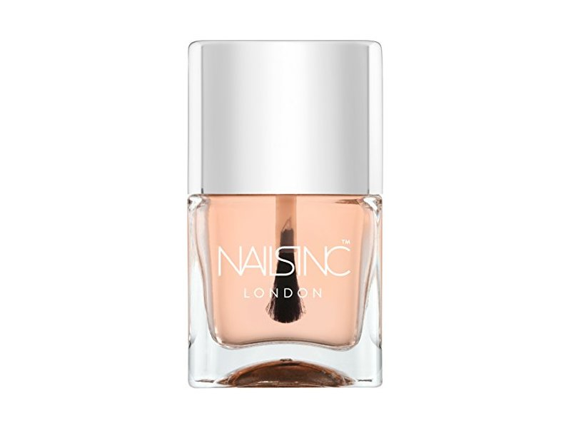 Nails Inc London 45 Second Top Coat, Kensington Caviar, 0.49 fl oz