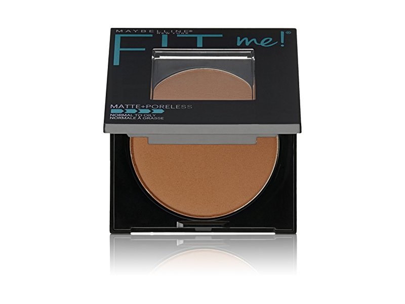 Maybelline New York Fit Me Matte Plus Poreless Powder, Mocha, 0.29 Ounce