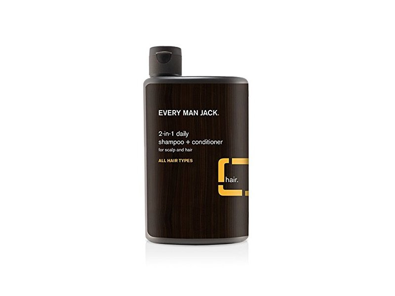 Every Man Jack 2-in-1 Daily Shampoo + Conditioner (Pack of 2)