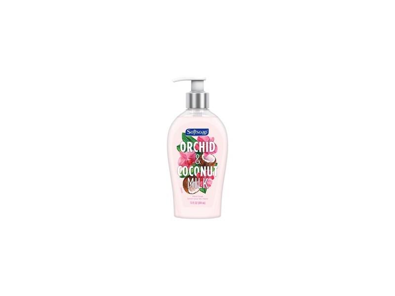 Softsoap Liquid Hand Soap, Orchid & Coconut Milk