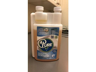 Pure Natural Easy Measure Natural Laundry Detergent, Free & Clear, 64 loads - Image 3