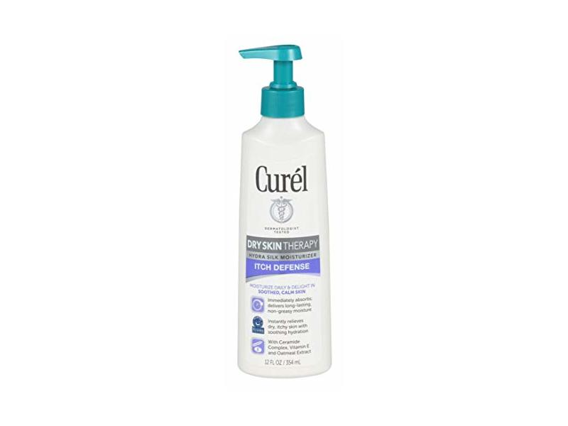 Curel Dry Skin Therapy Itch Defense, 12 Ounce