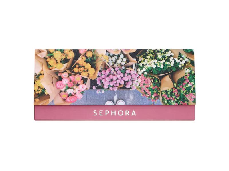 Sephora Eyestories Eyeshadow Palette, Fresh Florals, 0.18 oz