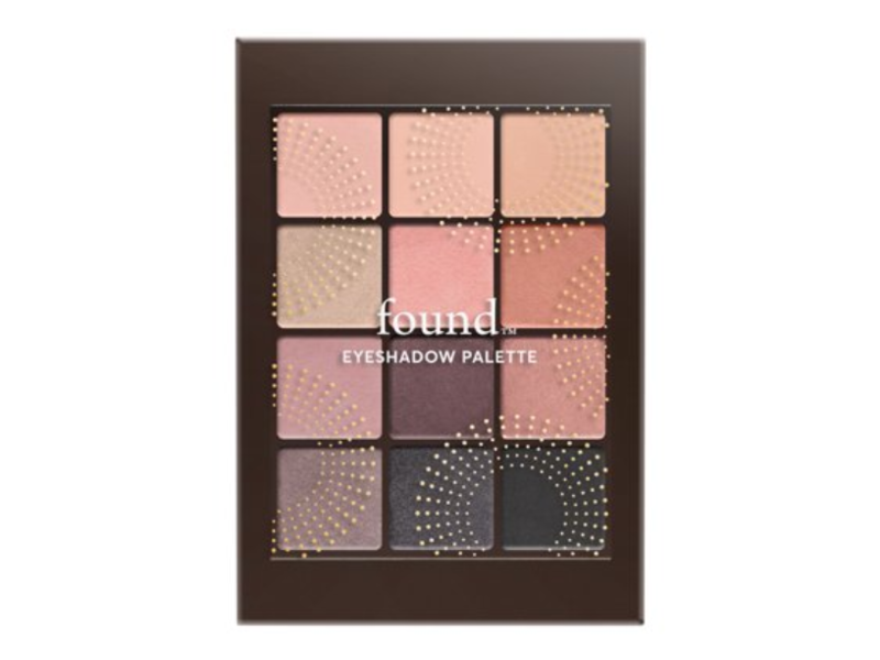 Found 12 Piece Eyeshadow Palette, 20 Blush, 0.23 oz