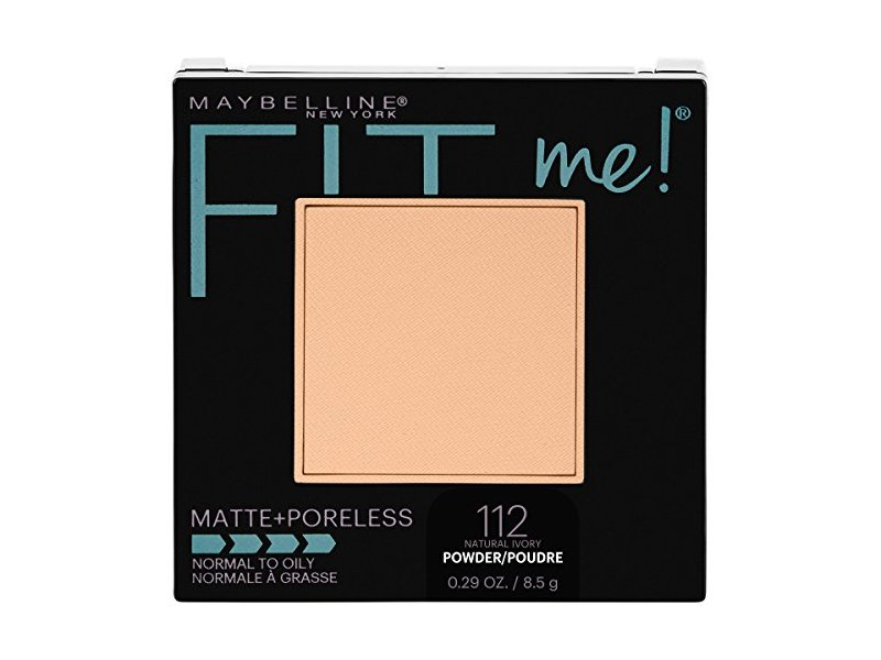 Maybelline New York Fit Me Matte + Poreless Pressed Face Powder Makeup, Natural Ivory, 0.28 Ounce