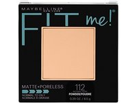 Maybelline New York Fit Me Matte + Poreless Pressed Face Powder Makeup, Natural Ivory, 0.28 Ounce - Image 2