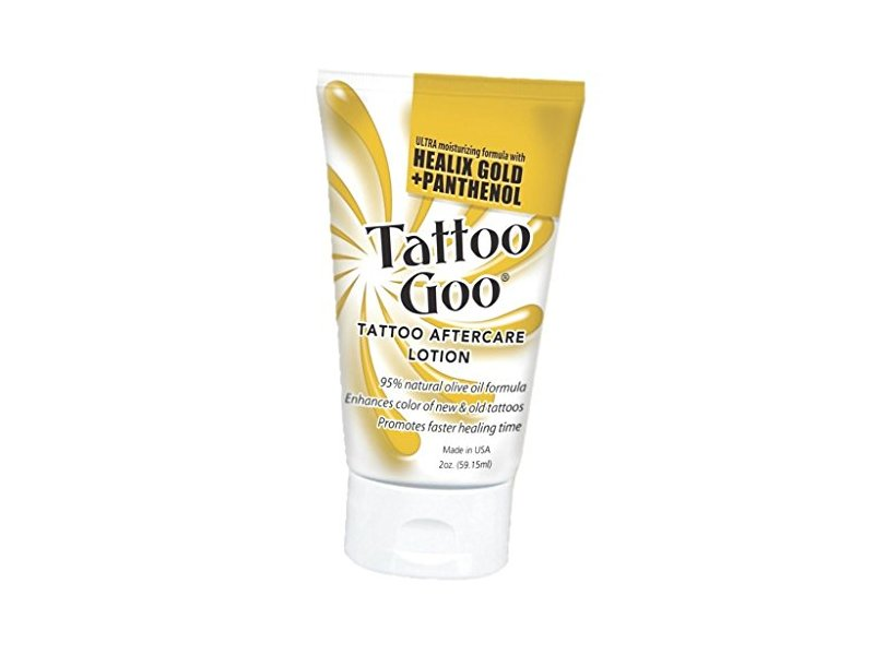 Tattoo Goo Original Aftercare Lotion Tube Healing Salve, 2 oz
