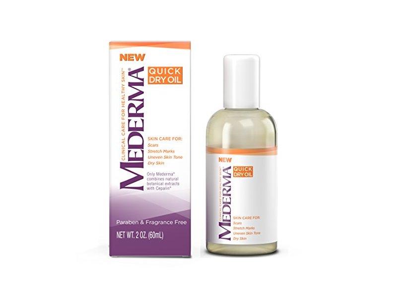 Mederma Quick Dry Oil, 2 fl oz/60 mL