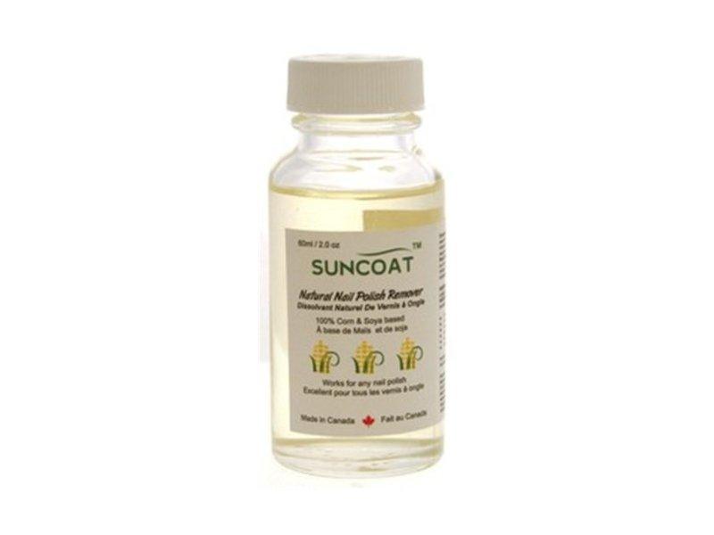 Sunscoat Natural Nail Polish Remover, 60 mL