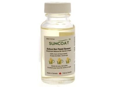 Sunscoat Natural Nail Polish Remover, 60 mL
