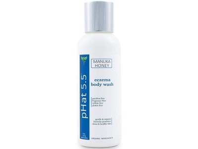 Phat 5.5 Manuka Honey Eczema Body Wash, 4 oz/113 g
