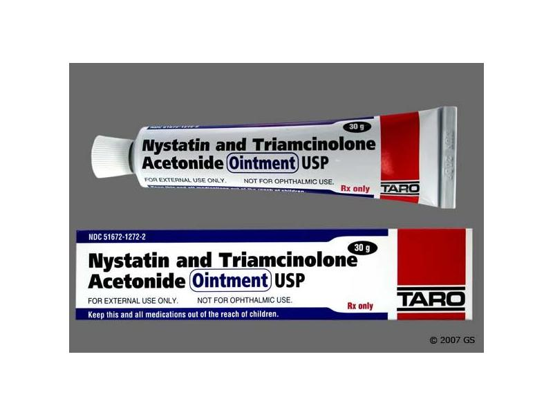 Nystatin And Triamcinolone Acetonide Ointment (RX), 30 grams, Taro Pharmaceuticals
