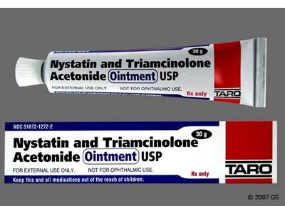 Nystatin And Triamcinolone Acetonide Ointment (RX), 30 grams, Taro Pharmaceuticals - Image 1