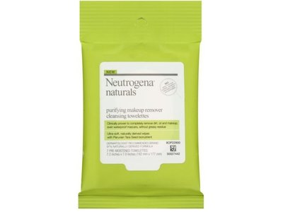 Neutrogena Naturals Purifying Makeup Remover Cleansing Towelettes, 24 ct