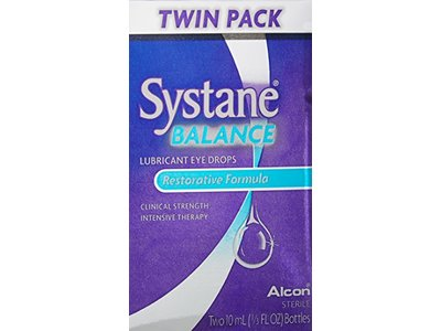 Systane Balance Lubricant Eye Drops, Twin Pack, 10-mL Each - Image 5