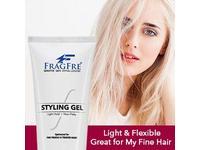 FRAGFRE Light Hold Hair Gel Fragrance-Free, 8 oz - Image 5