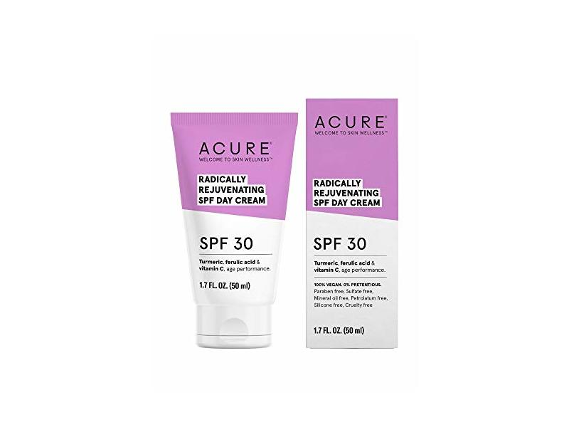Acure Organics Radically Rejuvenating SPF 30 Day Cream 1.7 fl oz Cream